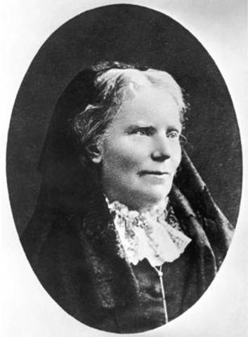 Elizabeth Blackwell is first woman to receive a medical degree