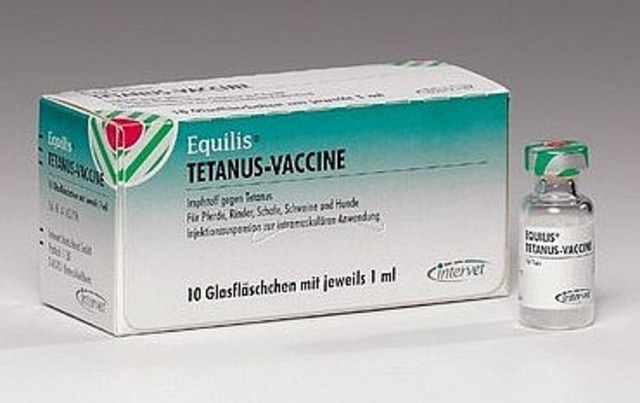 First vaccine for tetanus