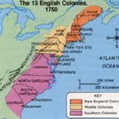 Establishing English Colonies in America timeline
