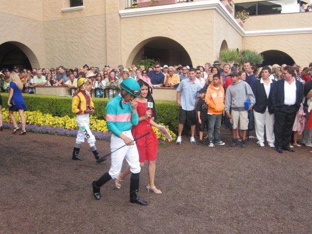 First horse race