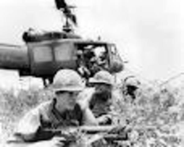 American Troops were sent to Vietnam