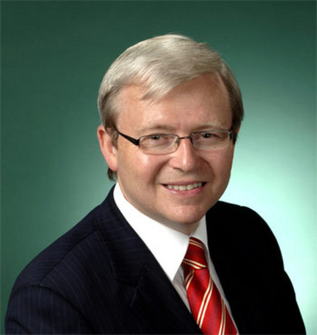 Kevin Rudd becomes PM