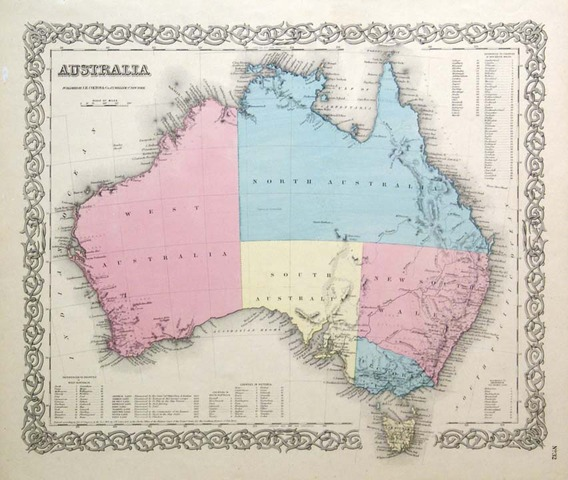 'Australia' is Named