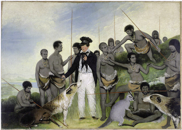 Aborigines Taken into Captivity