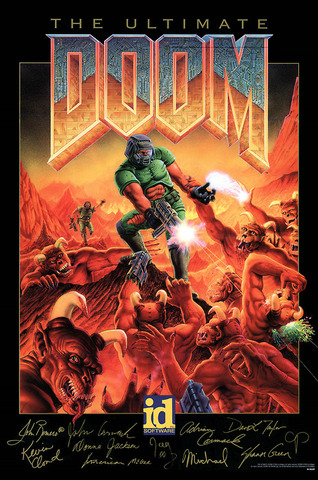 Doom - the first 3D FPS game