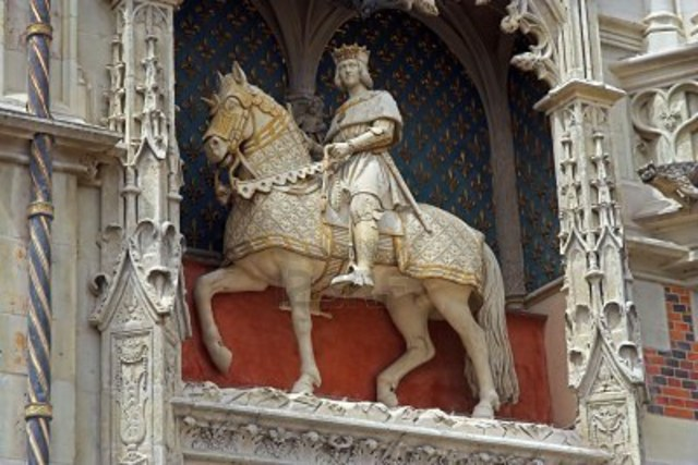 Patrionage from Louis XII of France