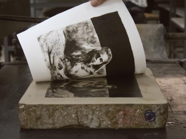 Desarrollo de la litografía.
