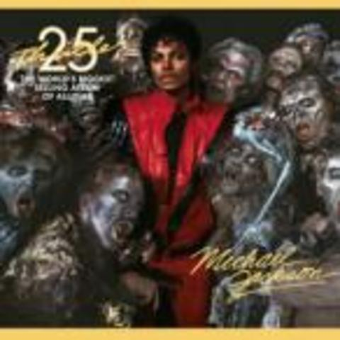 """the 25th anniversary for """"Thriller"""""""
