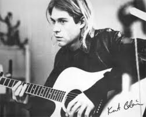 Kurt Cobain Born