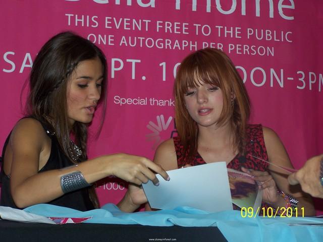 I met Bella Thorne!