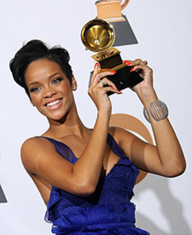 Rihanna won at the grammy's