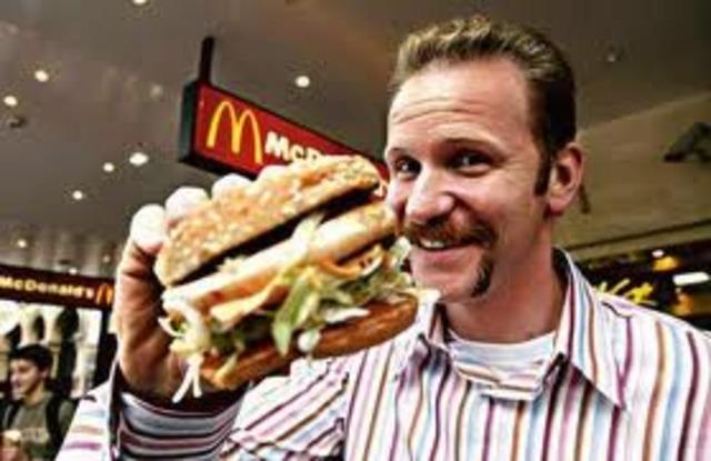 Morgan Spurlock begins his 30 Day Diet