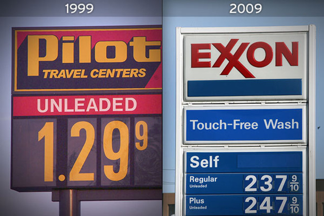 Gas Prices are so low!