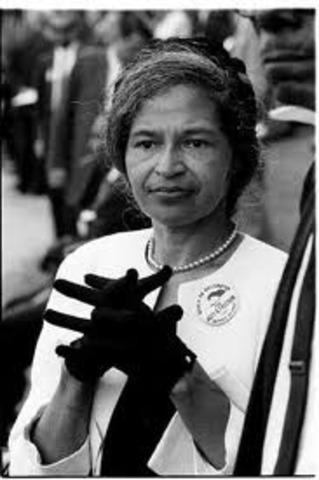Rosa Parks Dies