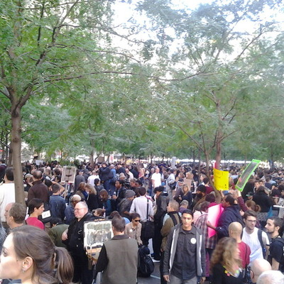 The History of Occupy Wall Street (Intro to Journalism feature) timeline
