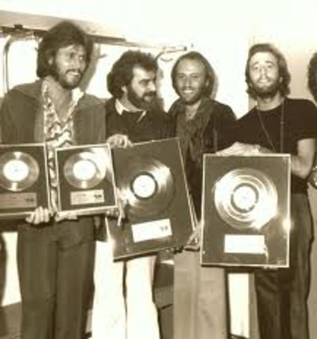 Bee Gees hit releases.