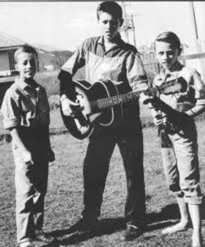 Birth of Barry Gibb