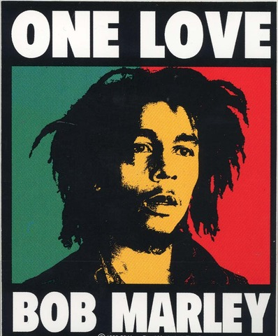 """One Love"" Bob Marley"