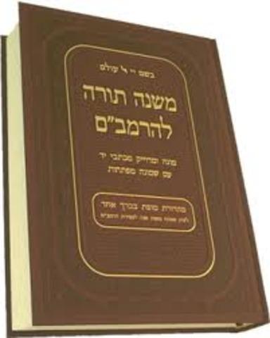 Maimonides Writes the Mishneh Torah