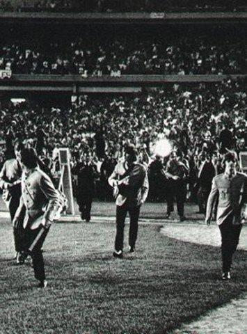 Beatles Performance at Shea