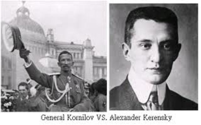 general kornilovs attempt to seize power in 1917 Chechnya - the tombstone of russian power  survived both the presidential elections of 1996 and the subsequent attempt by general  and already by 1917 was.