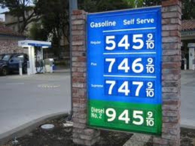Price of gas in 2011 from 1999