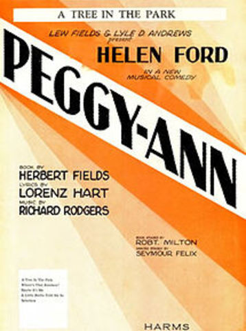 "Rodgers- Opening of ""Peggy-Ann"""