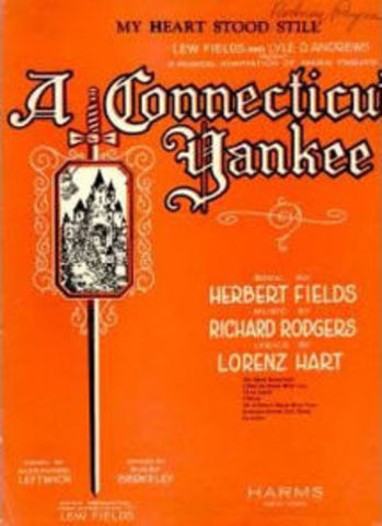 "Rodgers- Opening of ""A Connecticut Yankee"""