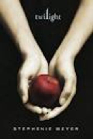 First book Twilight was published 2005