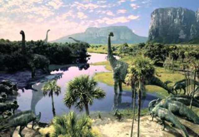 Dinosaurierna tar över!