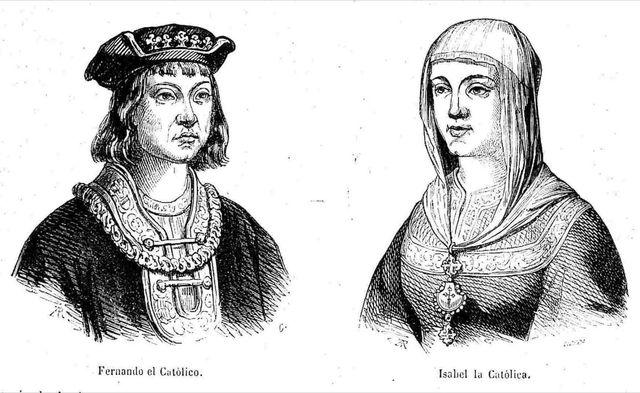 Inicio reinado Reyes Católicos