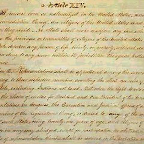 Analysis of American Reconstruction and the 14th Amendment