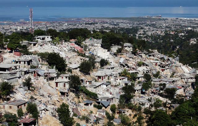 Earthquake in Hati