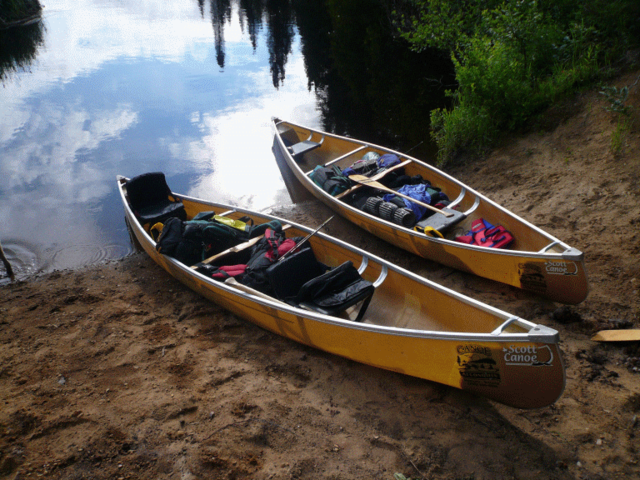 Invention of Canoes