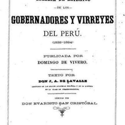 Virreyes y Reyes del Perú timeline