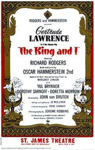 "Rodgers and Hammerstein- Opening of ""The King and I"""