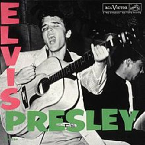 Elvis' first album is released
