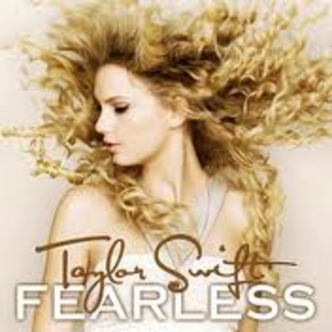 "Taylor released her second album ""Fearless"""