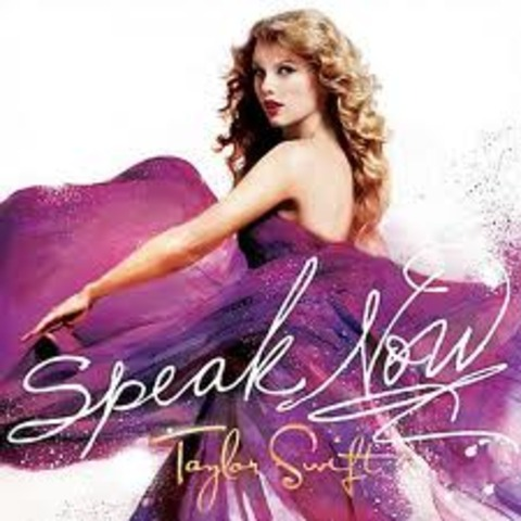 "Taylor released her third album ""Speak Now"""