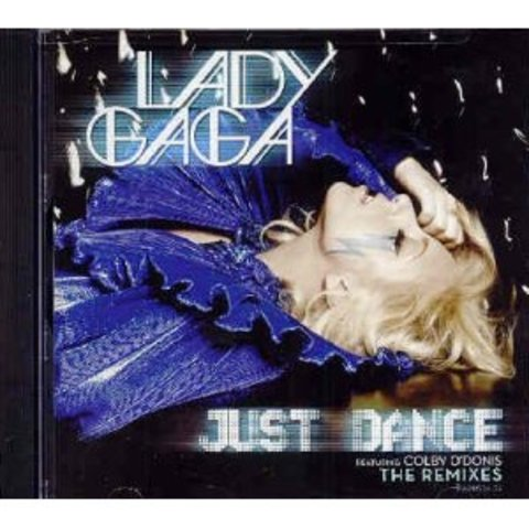 Lady Gaga's 'Just dance' appeared on the radio.