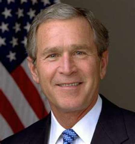 George W. Bush Becomes President