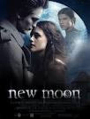 The movie New Moon is released