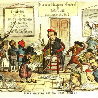 Siglo XVIII en España D9 timeline