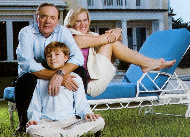 Who is James patterson married to??