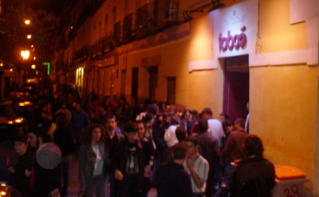Dieron su segundo concierto en la  Sala Taboó (Madrid)
