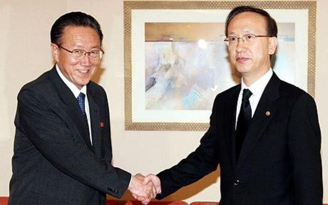 SK and NK ministers meet