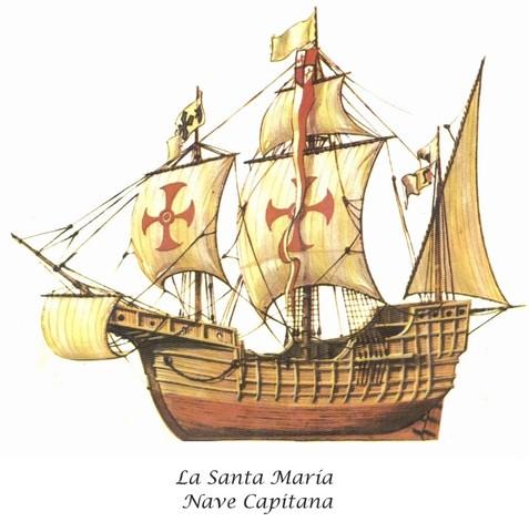 FIN DE LA EDAD MEDIA. INICIO DE LA EDAD MODERNA. Descubrimiento de América por Cristobal Colón.