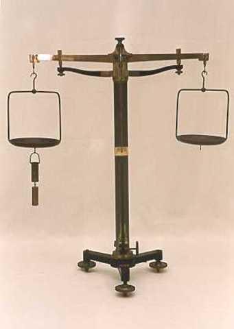 Construeix la balança hidrostàtica per determinar pesos específics.
