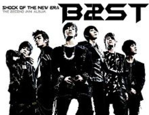 "BEAST's second mini-album ""Shock of the New Era"" realeased"