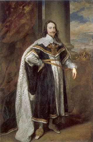Charles I becomes king of England